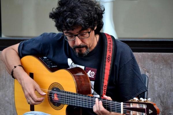 Rubén Díaz, un músico clave de la generación del movimiento de la Nueva Canción Popular Canaria, de los años 70 y 80.
