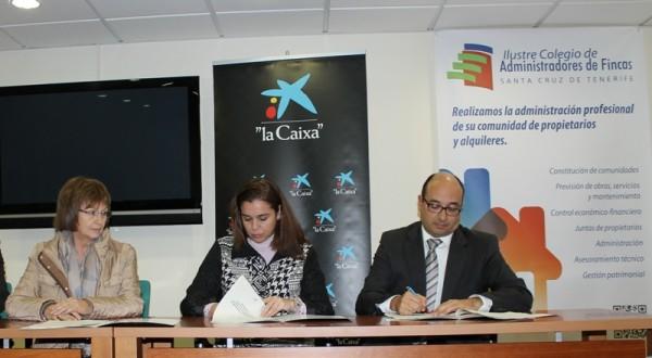 Convenio de caixabank y los colegios de administradores de fincas de canarias para la - Colegio de administradores barcelona ...