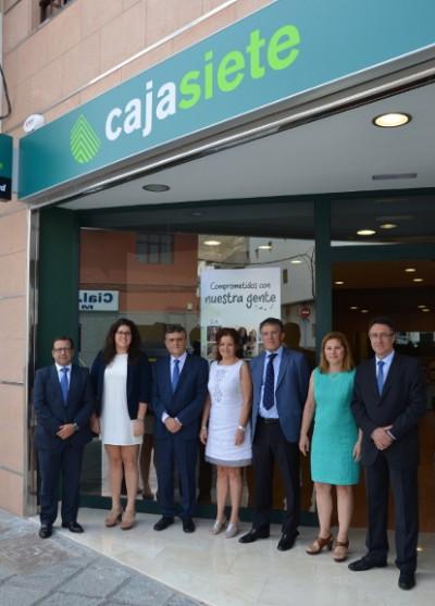 Las cooperativas de cr dito como cajasiete reciben un for Cajasiete oficinas