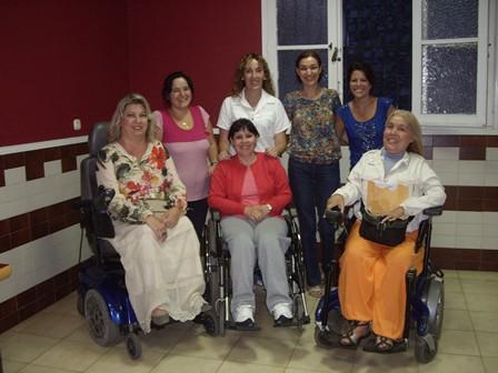 junta directiva de la Asociación de Enfermedades Neuromusculares de Canarias