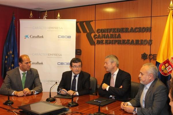 Las empresas de las islas se benefician de una lìnea especial de financiación de CaixaBank.