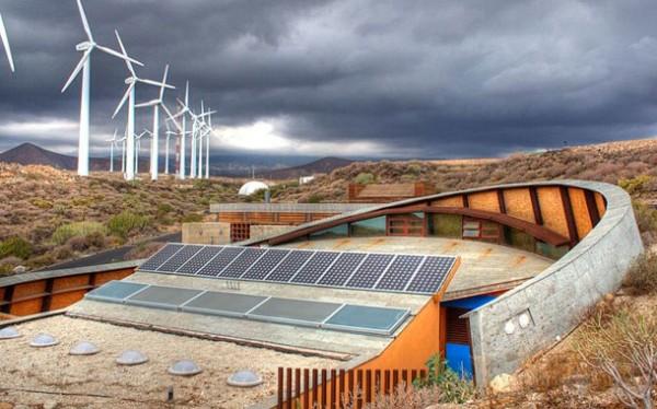 Casas bioclimáticas del ITER.