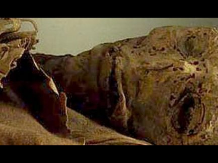 Momia. La mirada del guanche.