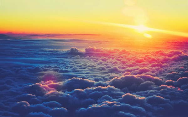 Mar de nubes./Pietrol Marino.